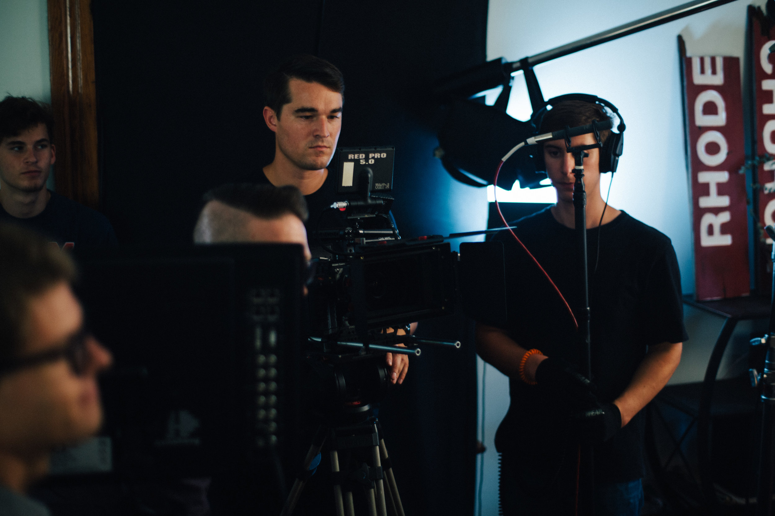 Promotional Video Production - On Set with HD Cameras for Promotional Marketing