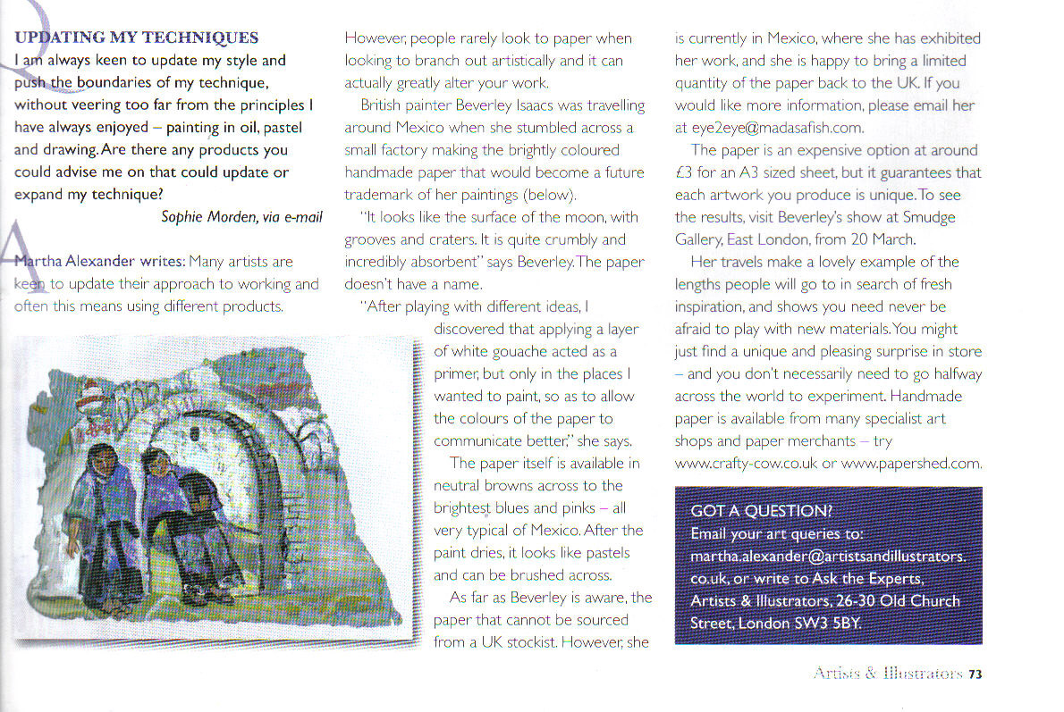Artists and Illustrators Magazine | March 2008