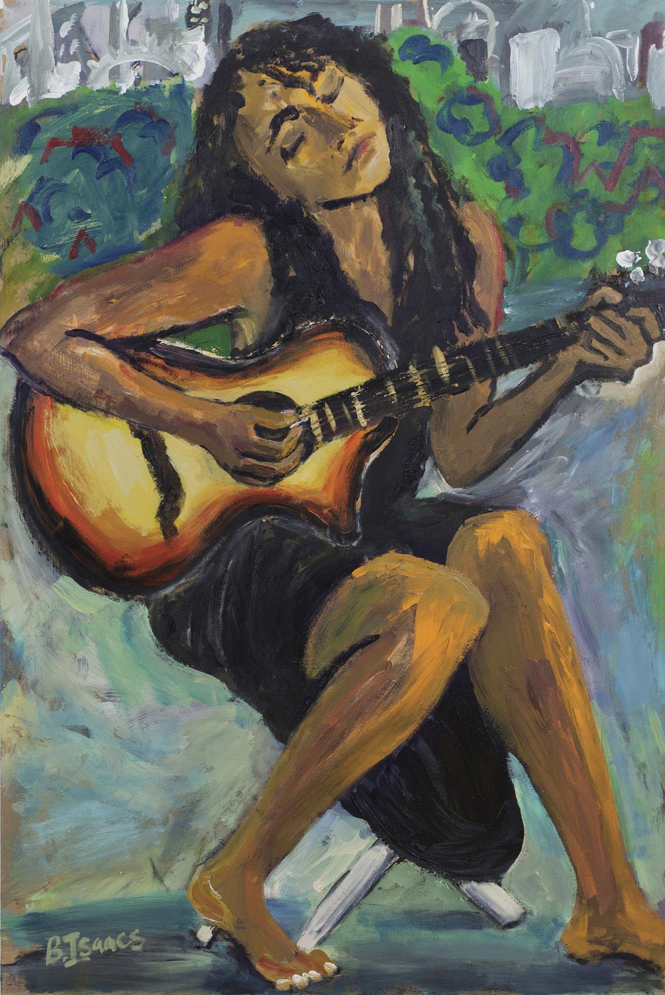 MAYAENI  Acrylic on Wood | 62 x 92 cm | 2012