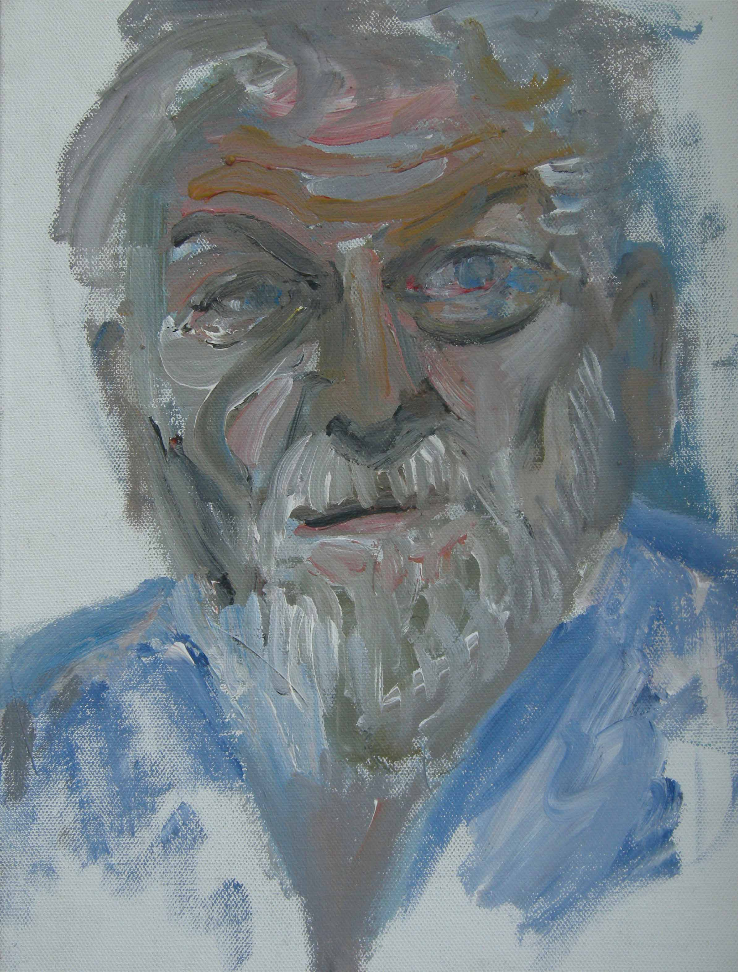 ARTIST RAUL HERRERA  Acrylic on Canvas Board   35 x 25 cm   2013