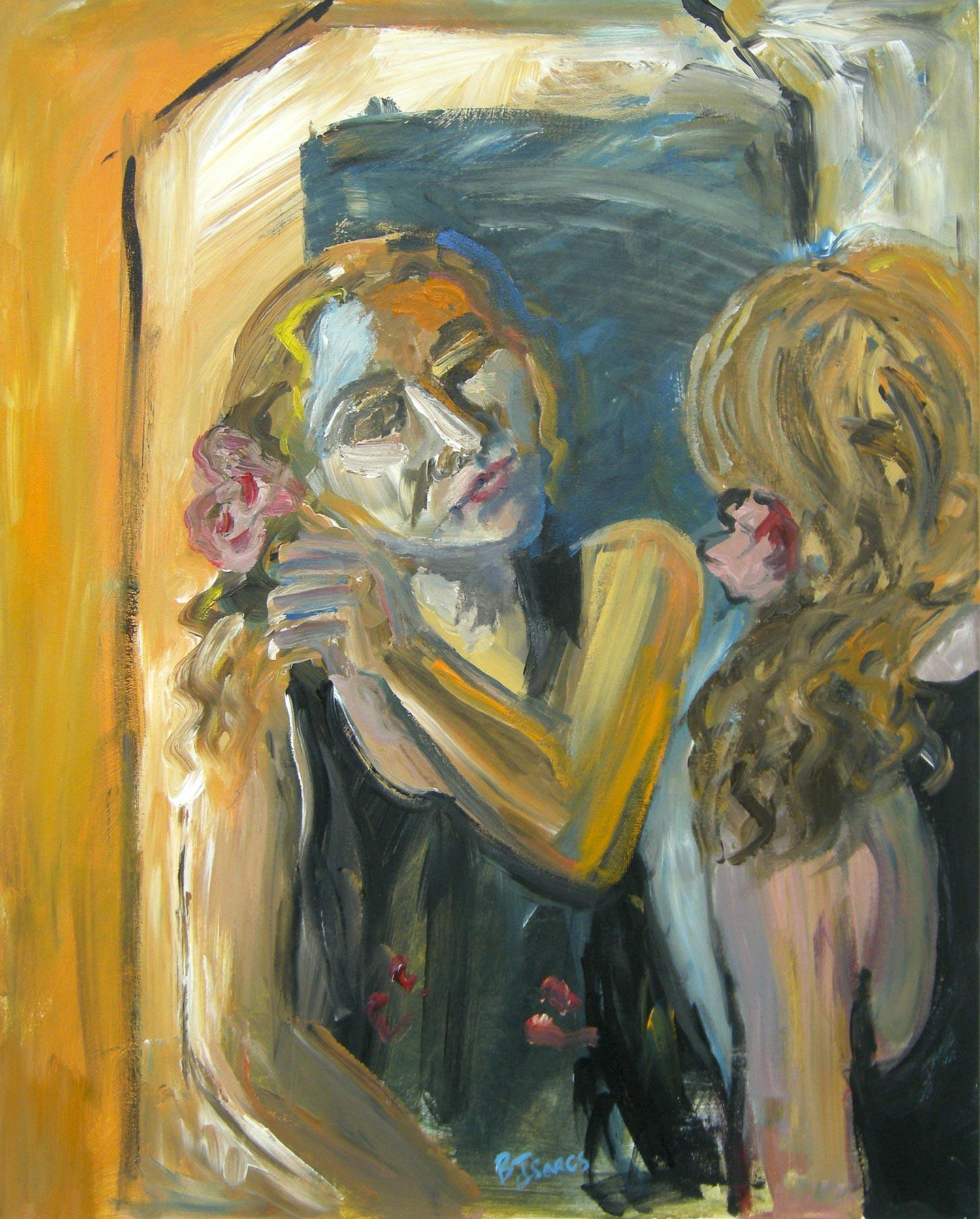 MESSY PRETTY  Acrylic on Canvas   61 x 76 cm   2012