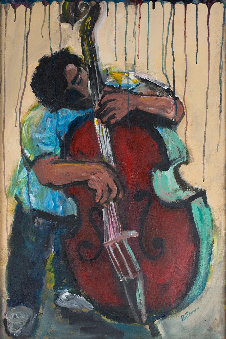RAINY DAY BLUES  Acrylic on Canvass | 60 x 90 cm (FRAMED) |2010 (AVAILABLE)