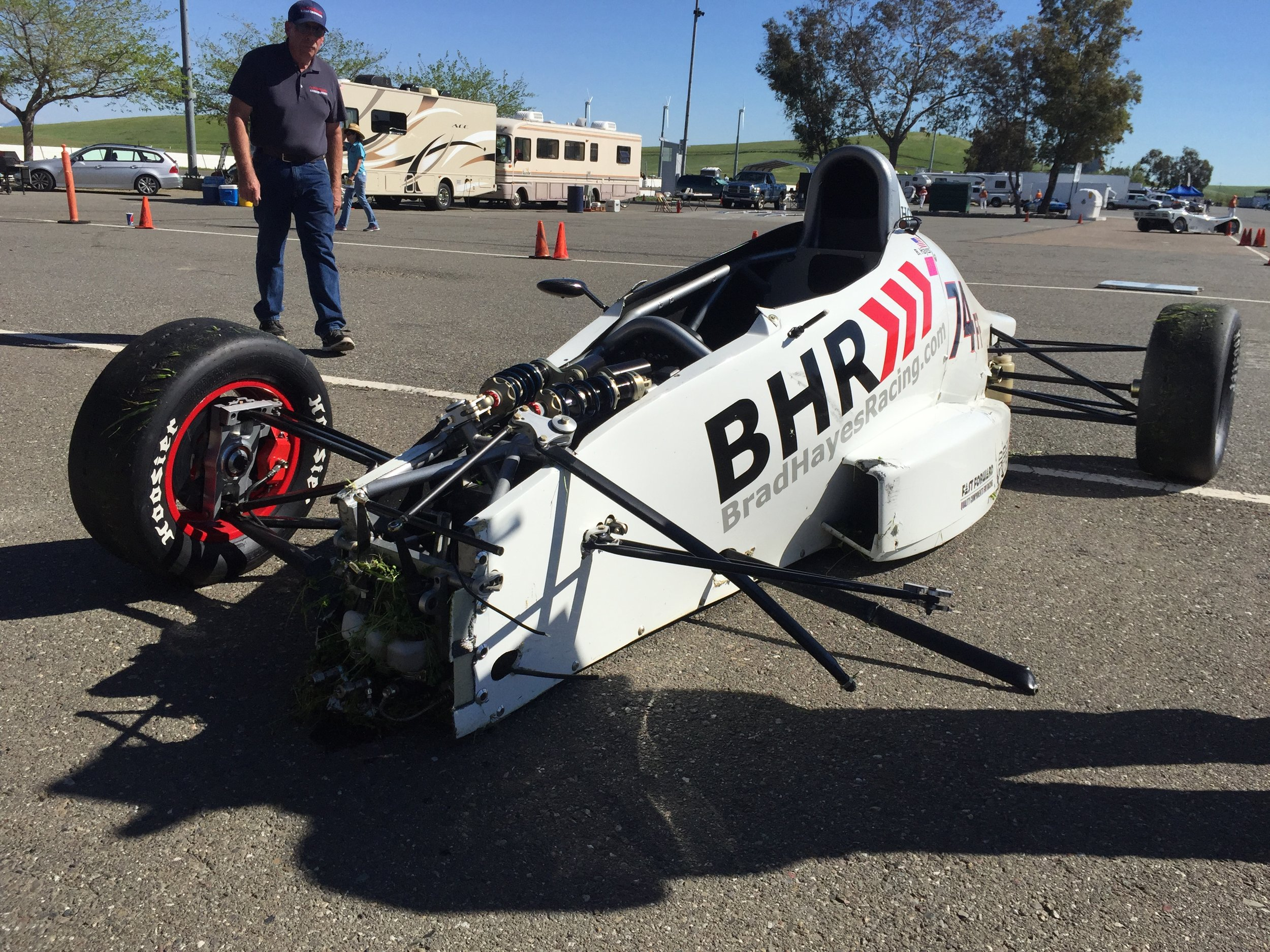 Last year's Thunderhill Major ended with lots of broken parts after a big crash in the Sunday race.