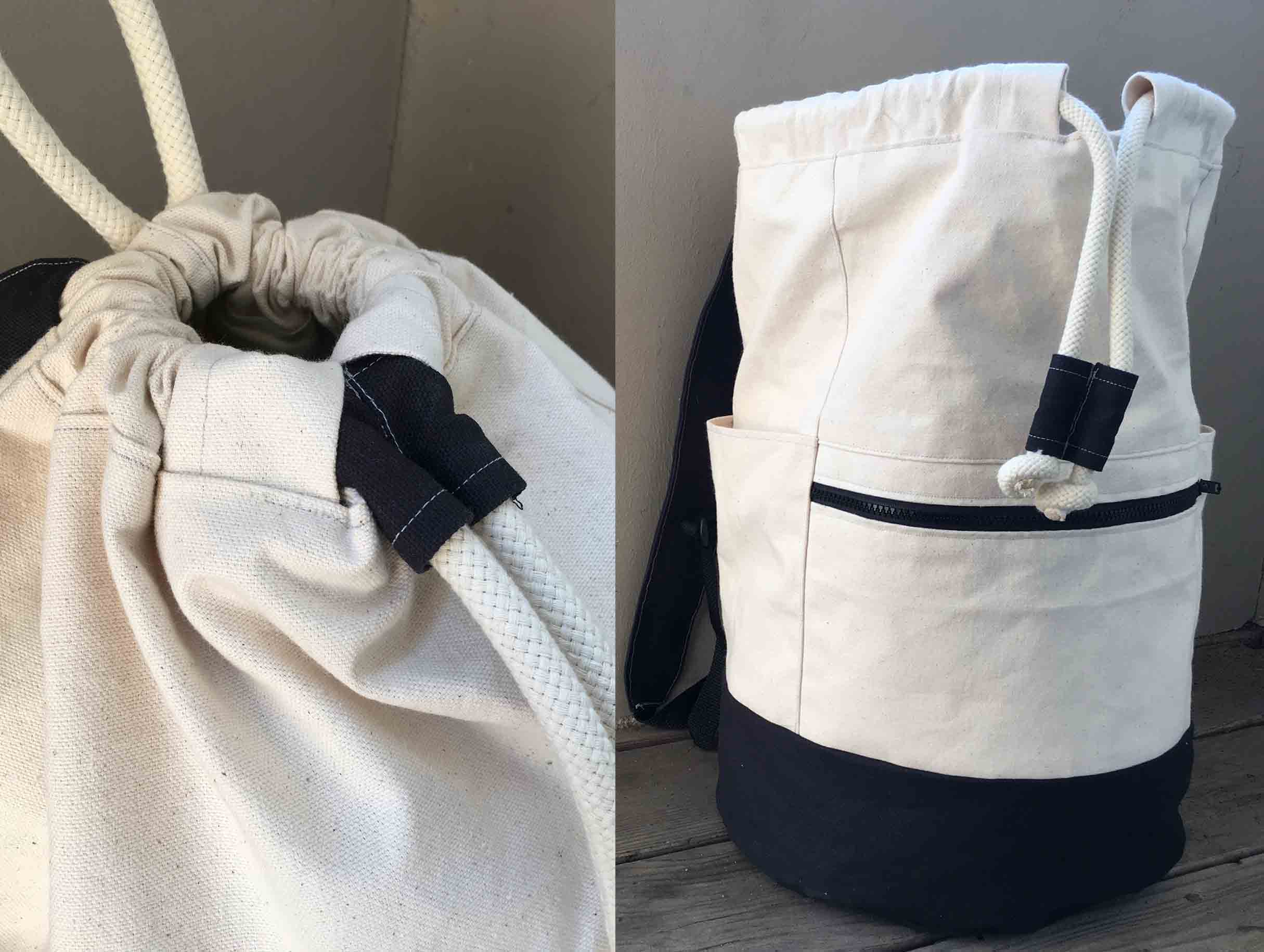 Rainier -  Drawcord Backpack