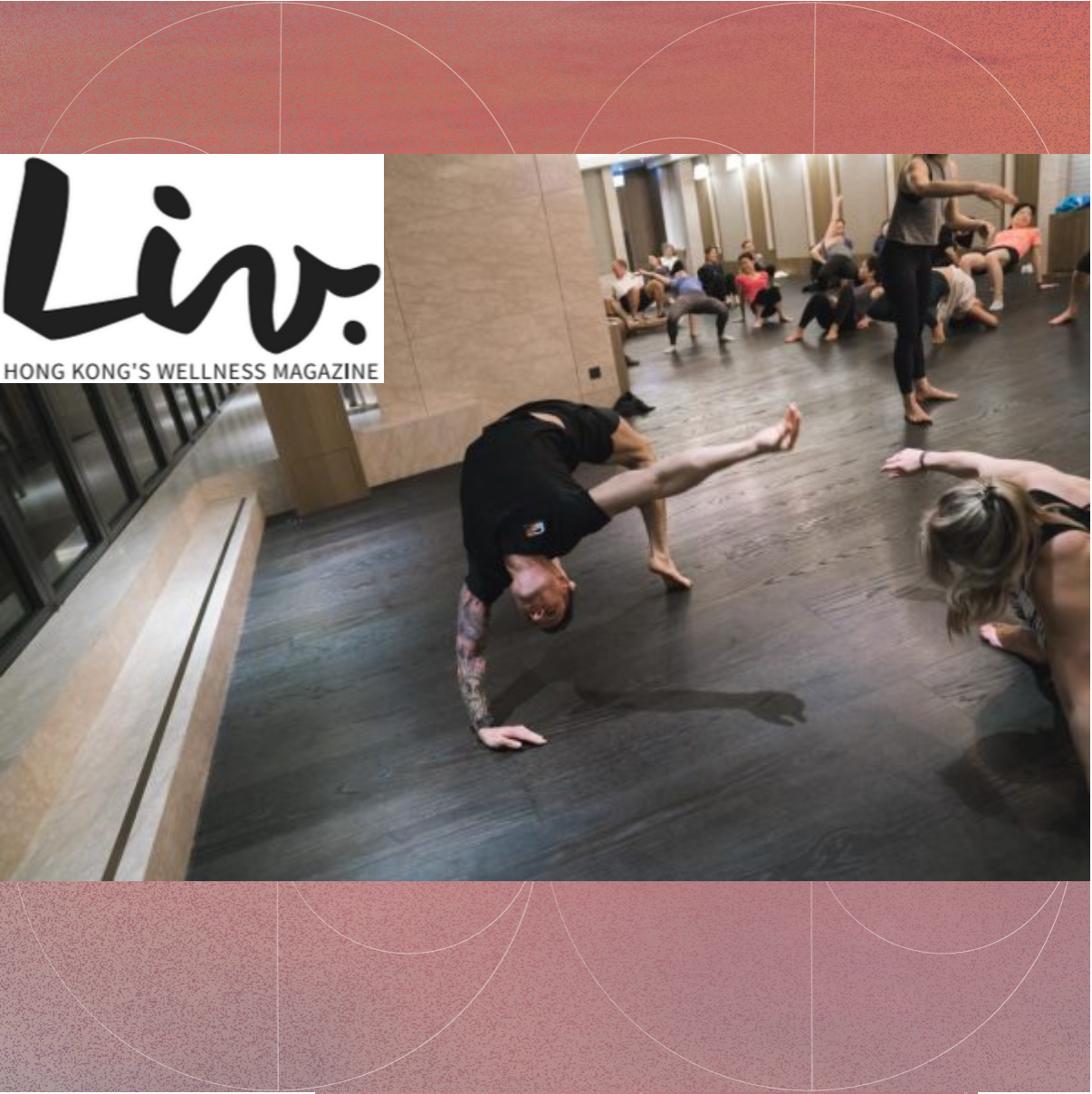 "LIV - ""... gourmet healthy canapes and juices were served on the hotel's outdoor terrace, followed by an invigorating workout: the March event featured an Introduction to Movement class with SharedSpace..."""