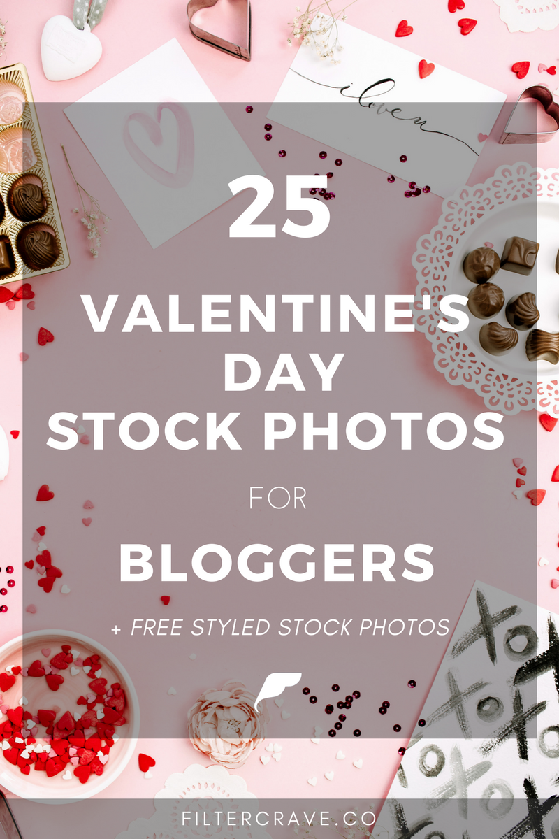 25+ Valentine's Day Styled Stock Photography For Bloggers
