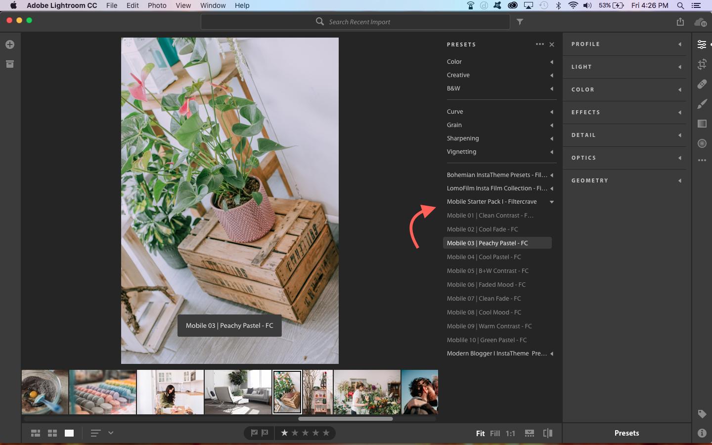 How To Install Lightroom Presets in Lightroom Mobile | Filtercrave Photography Tips + Lightroom Presets