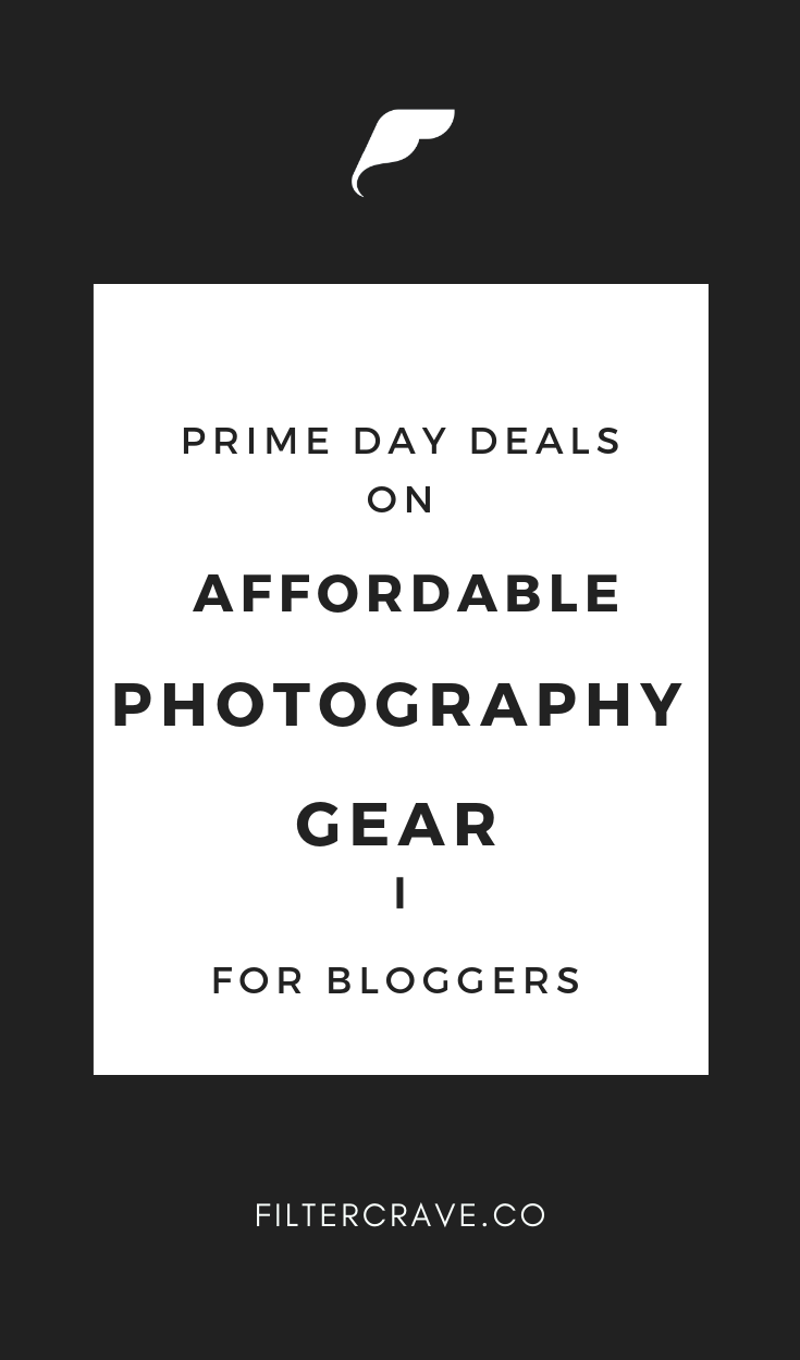 Photography Equipment can be really expensive, so I wanted to create a post dedicated to sharing seasonal and year round deals for photography equipment and resources that are super useful for bloggers, entrepreneurs, and beginner photographers.    Filtercrave Photography Tips + Lightroom Presets #Photographytips #photographydeals #photographygear #photography