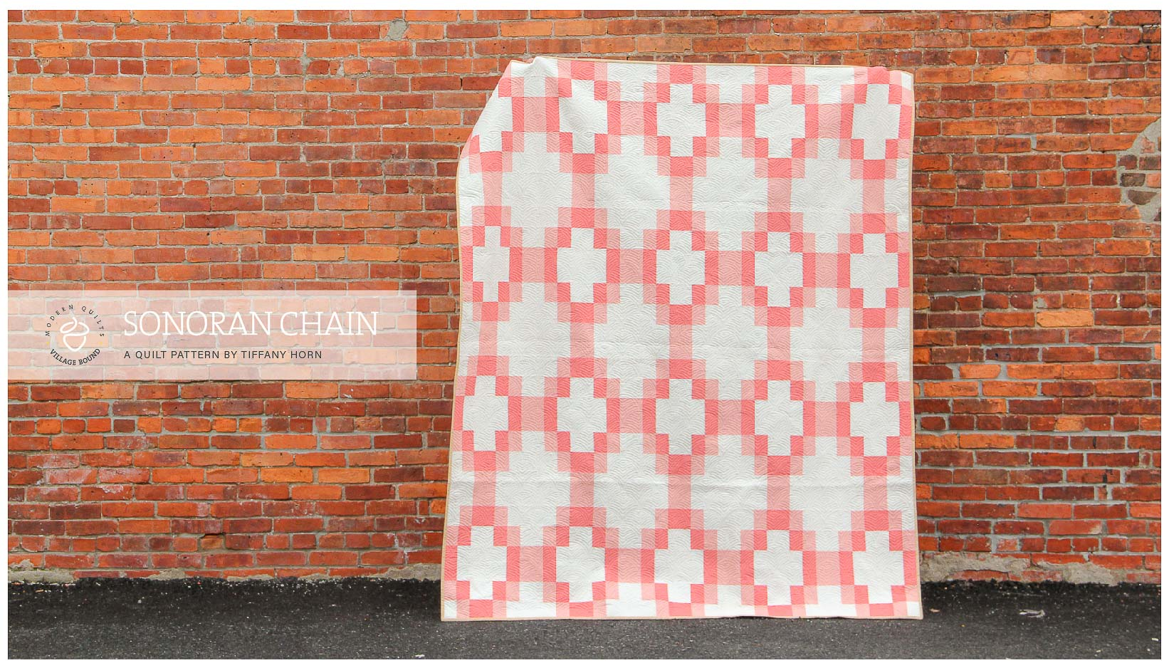 SonoranChainQuilt pattern by TiffanyHorn. villageboundquilts.com