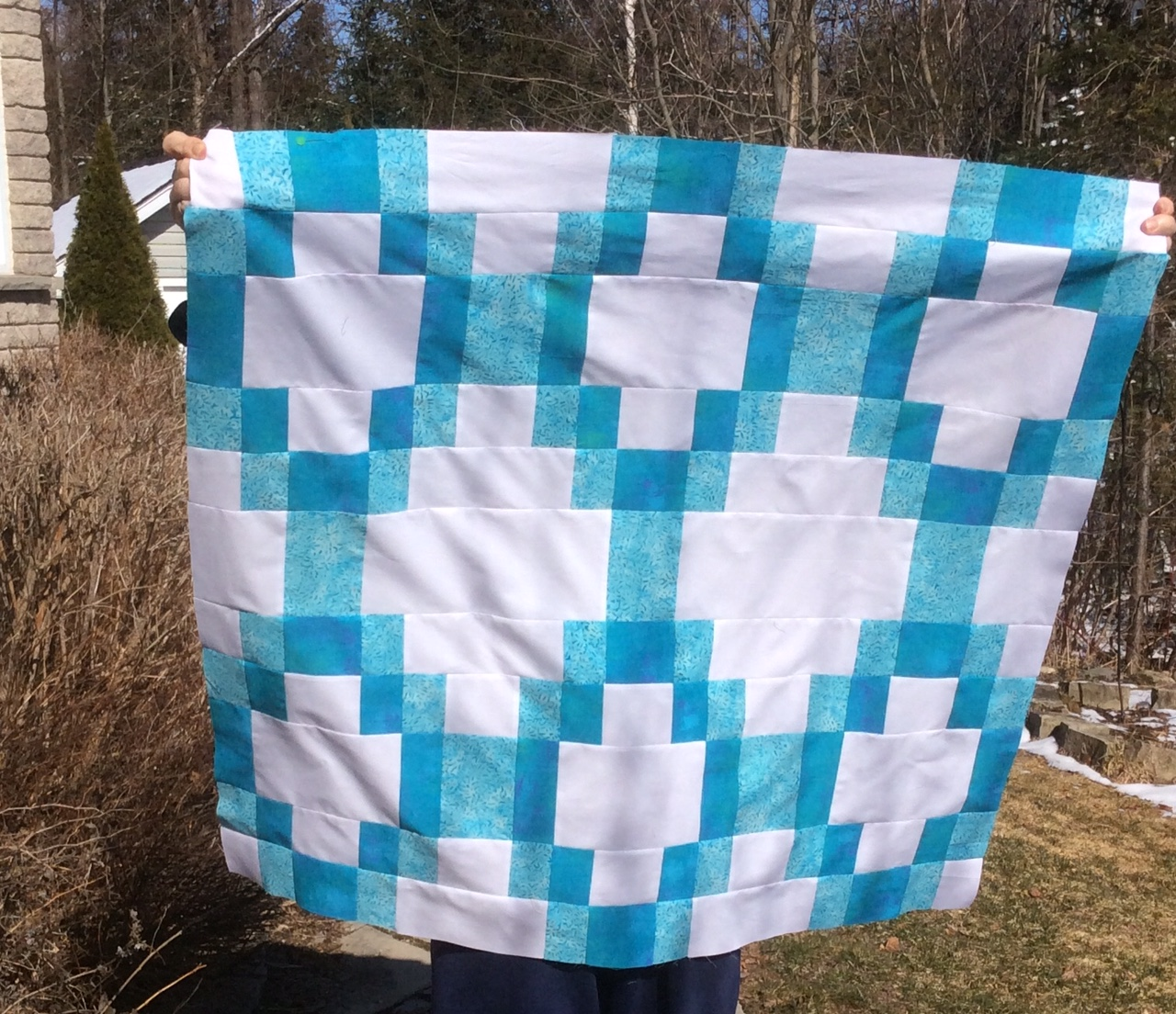 Sonoran Chain Quilt, a pattern by Tiffany Horn. villageboundquilts.com