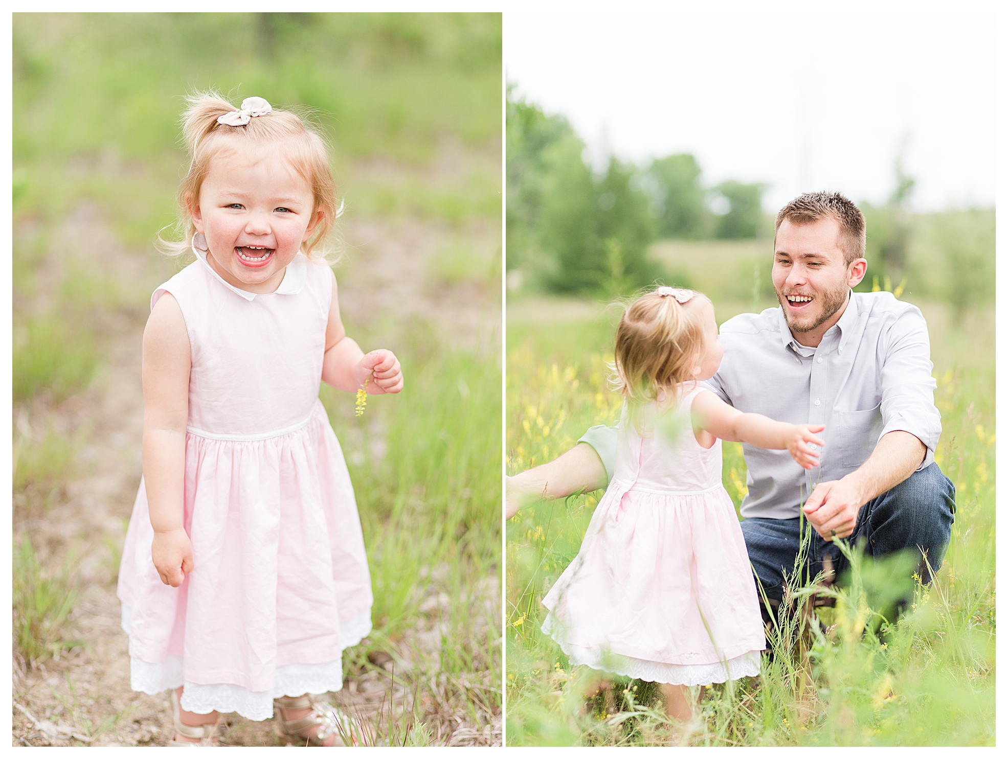 Goodness, dad photos melt my heart!  I love capturing all the different connections and relationships at a family session!