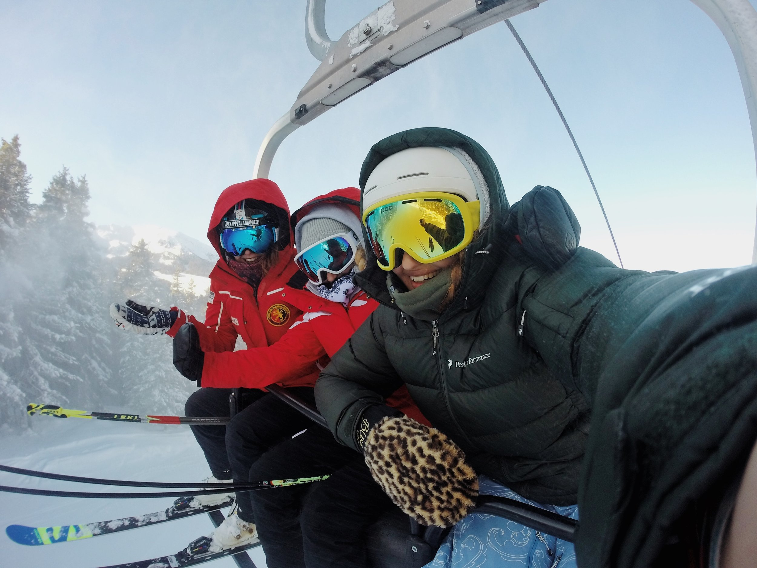 Building real friendships on the lift rides up
