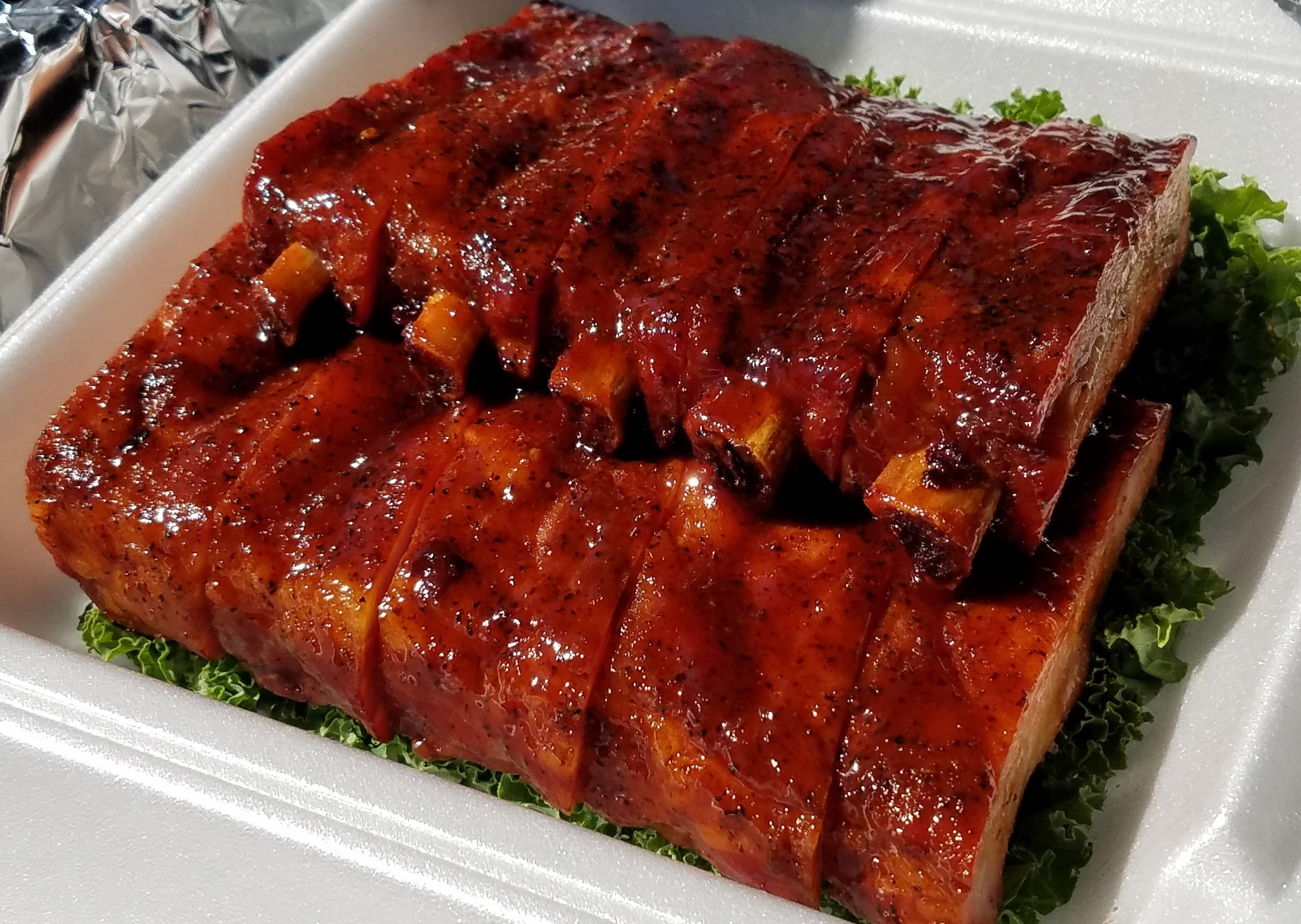 Ribs - Spare, St. Louis, Baby Back, Country Style. How can you go wrong when choosing this option? Prepared the same as in our competitions & smoked to perfection, our ribs are unmatched in the Metro area, so don't skip them in your next order. Check social media for smoked meat specials