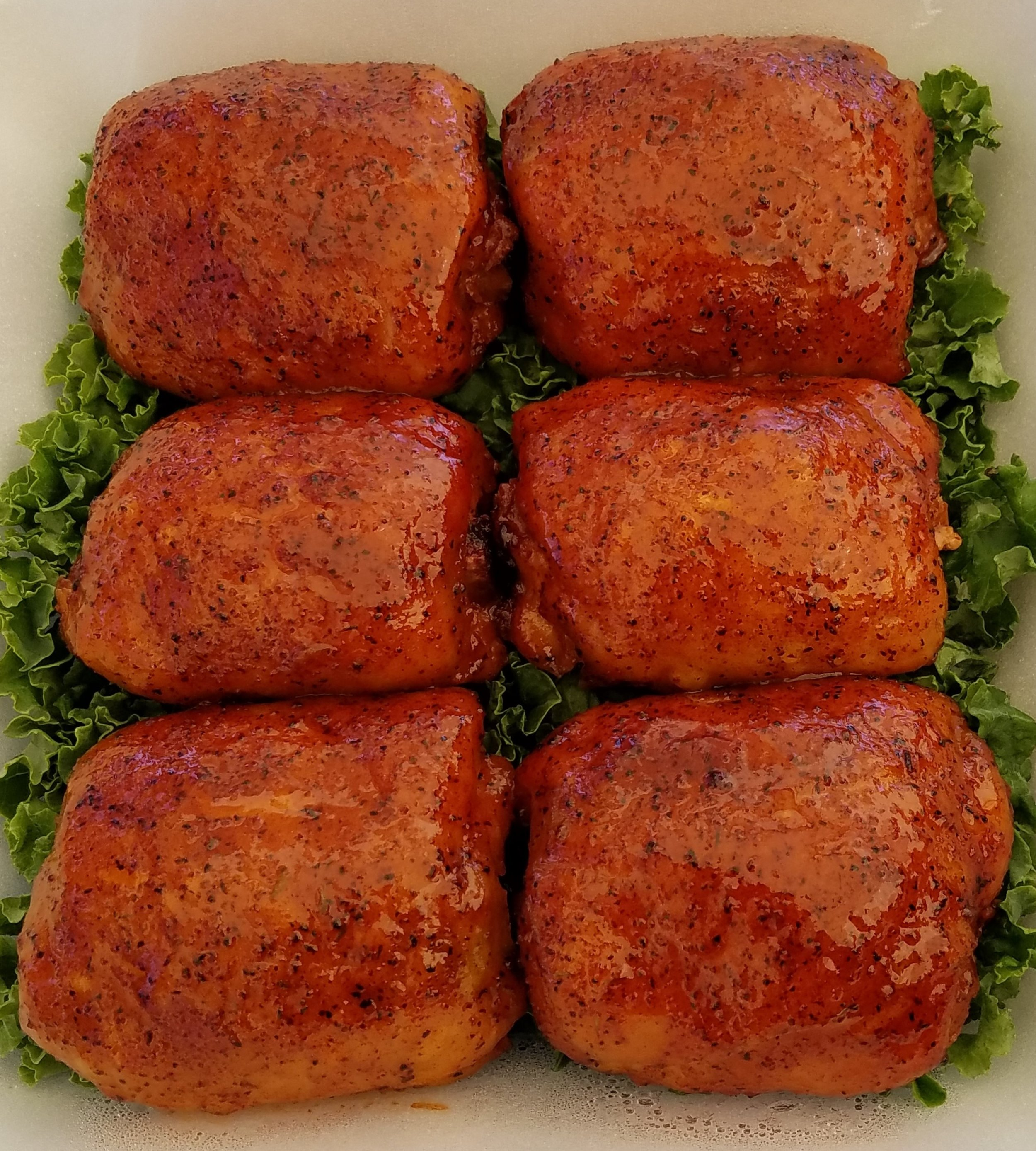 Chicken - Chicken thighs are the preferred cut at Wigglestick. A favorite for many,Wigglestick is something so many people enjoy, especially when it's barbecued. Chicken can either come in a half pound or a full one. You can also get it in tacos or add it to your meat sampler.