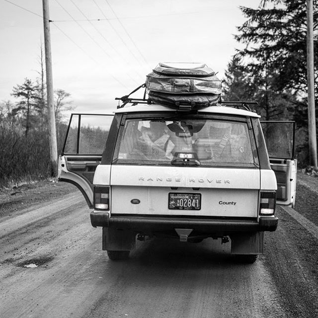 Car, hotel room and kitchen. Our friends @hestoutdoors are making it easier than ever to pack up the boards and go. Follow along. #dreamerswanted #optoutside #rangerover #landrover #rangeroverclassic