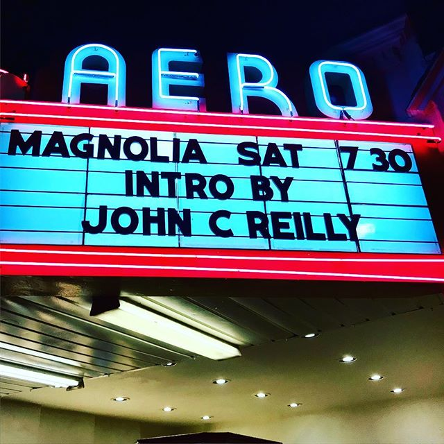 That was a great night! With a screening beforehand with some excellent filmmakers - and a Q & A with John C. Riley - charming and full of inspirational film stories! Blessed! #aerotheatre #actors #johncriley #santamonica #film #paulthomasanderson #la #thesistersbrothers #magnolia #greatestmovieofalltime