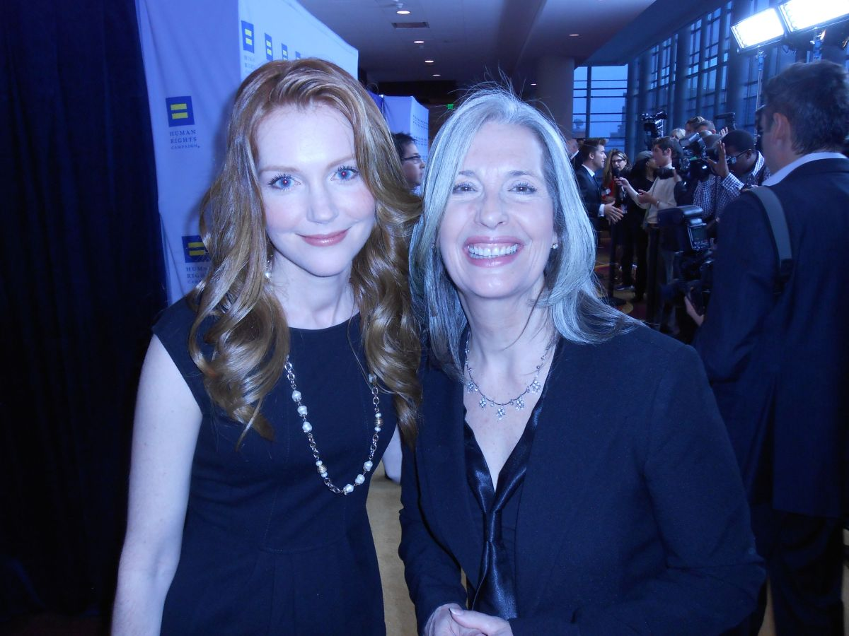 April Brown and Darby Stanchfield