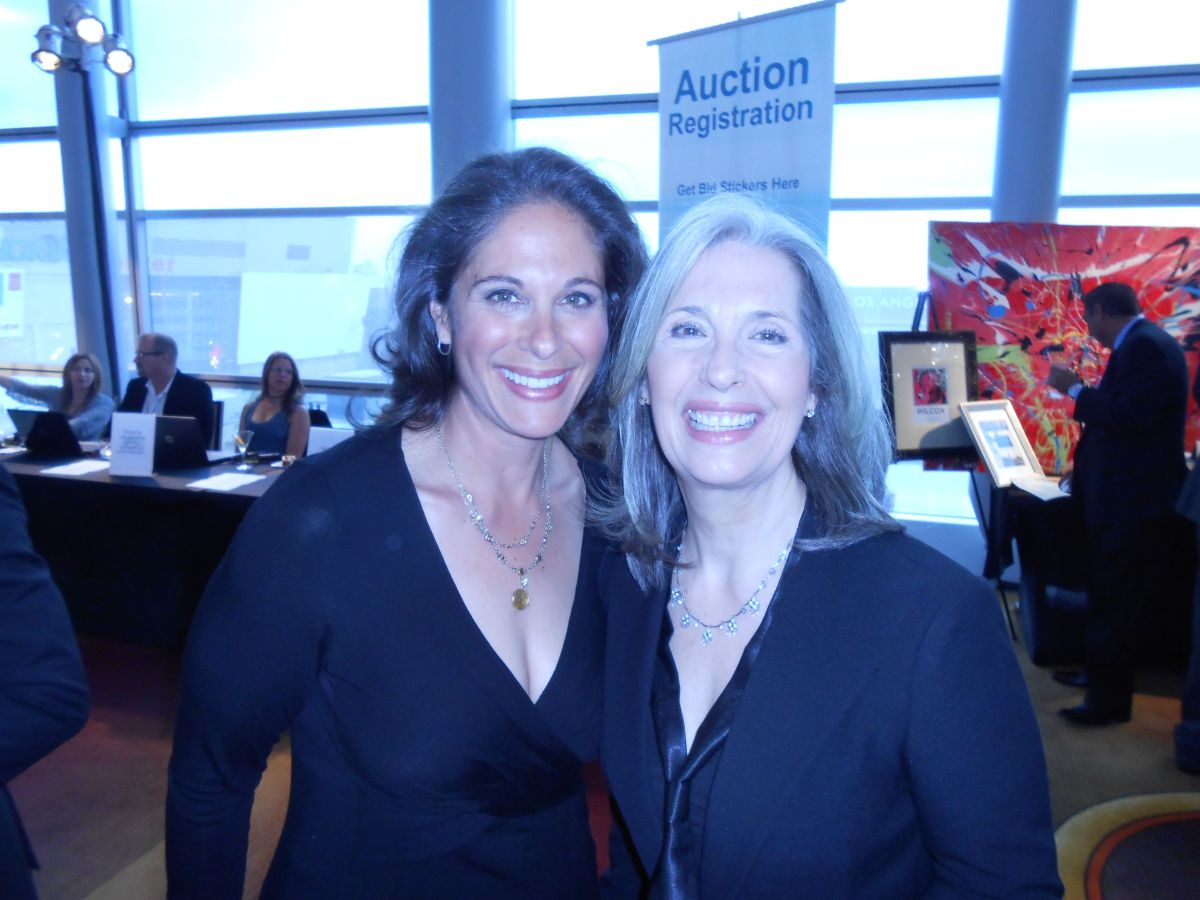 Dana Goldberg and April Brown