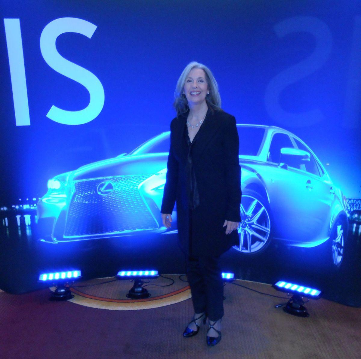 April Brown with Lexus