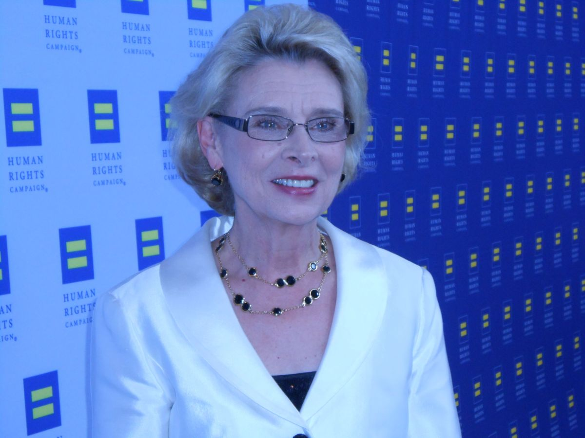 Governor Christine Gregoire at HRC Los Angeles