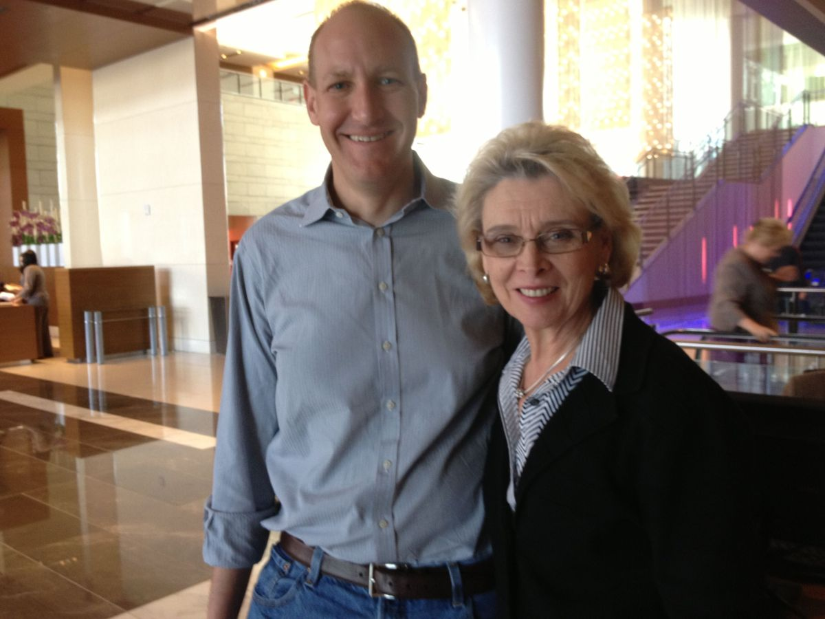 Cory Curtis and Governor Christine Gregoire