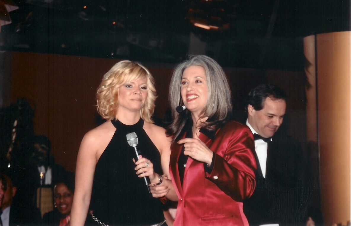 Seattle Newscaster with April Brown Auctioneer