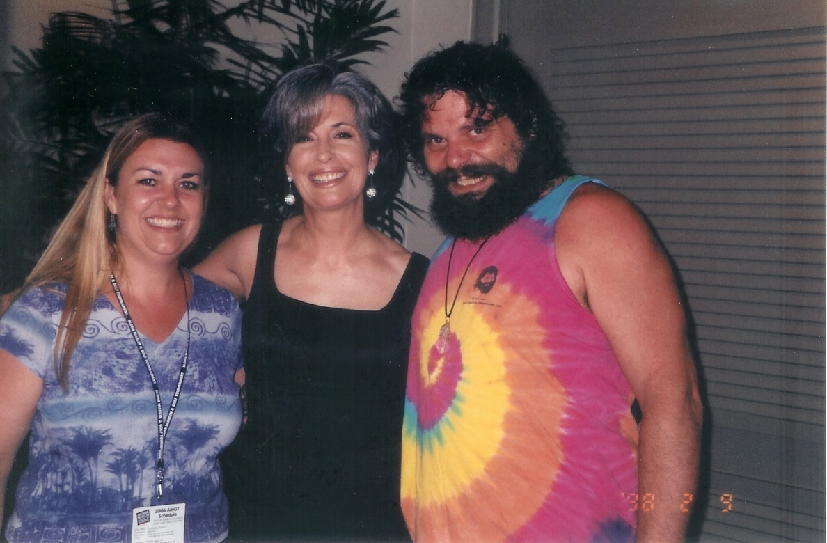 Survivor Winner Rupert Boneham with April Brown Auctioneer