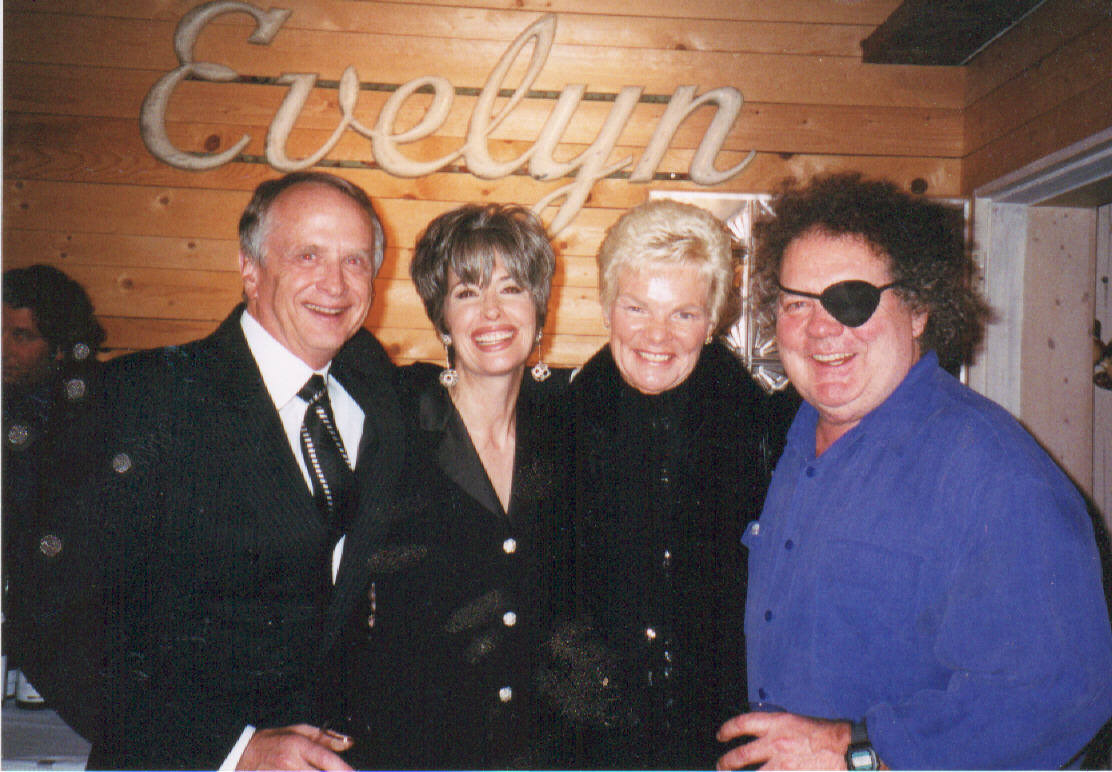 APRIL BROWN WTH DALE CHIHULY AND SPONSORS