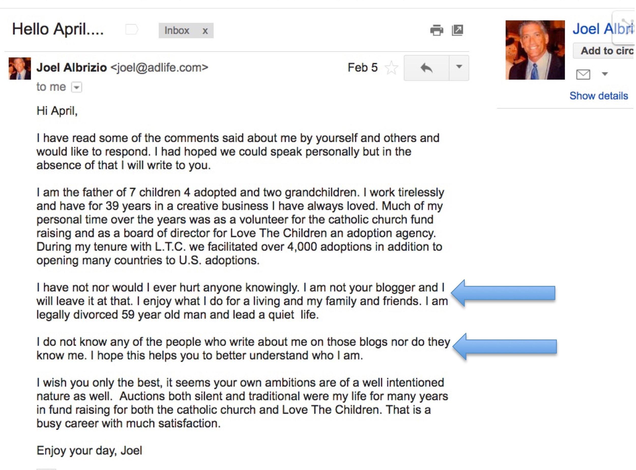 Joel Albrizio Denying Hes the blogger.jpg
