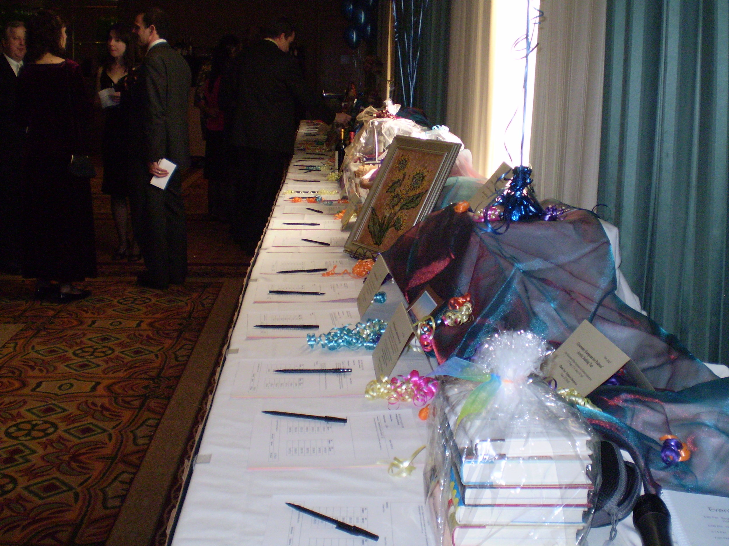 Typical Silent Auction Setup.JPG