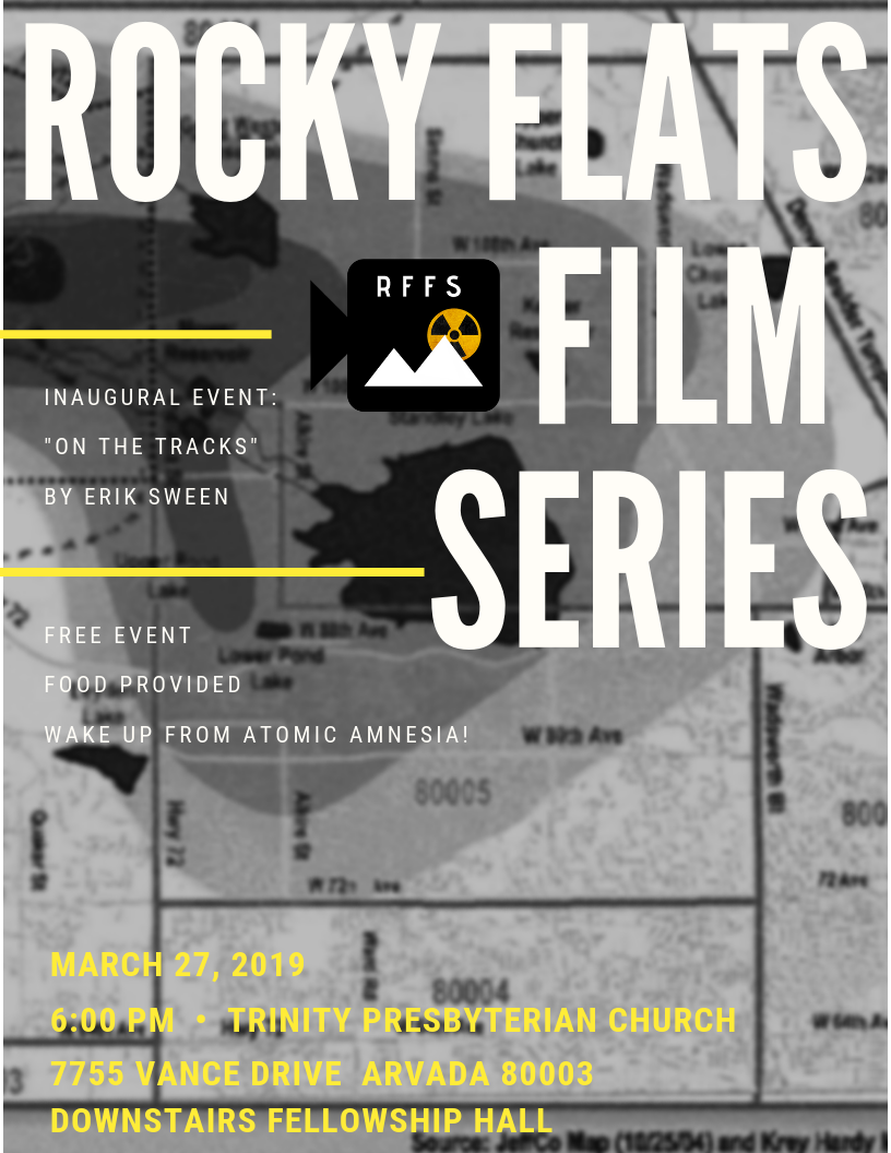 Free event, but tickets required: https://www.eventbrite.com/e/rocky-flats-film-series-tickets-58606185679