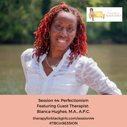 Therapy for Black Girls P  odcast Link