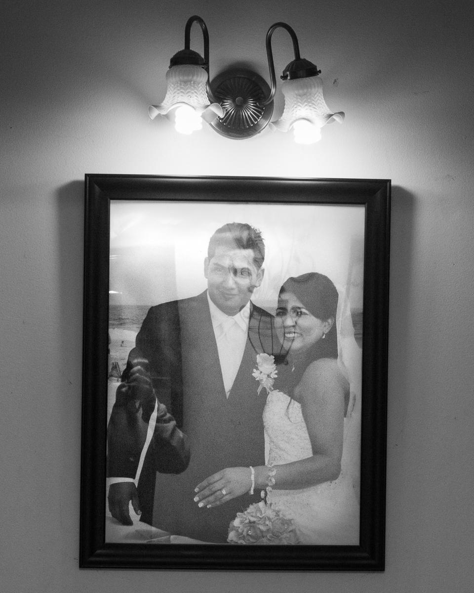 Wedding Day, August 2013, Te Extraño, New York, USA 2018