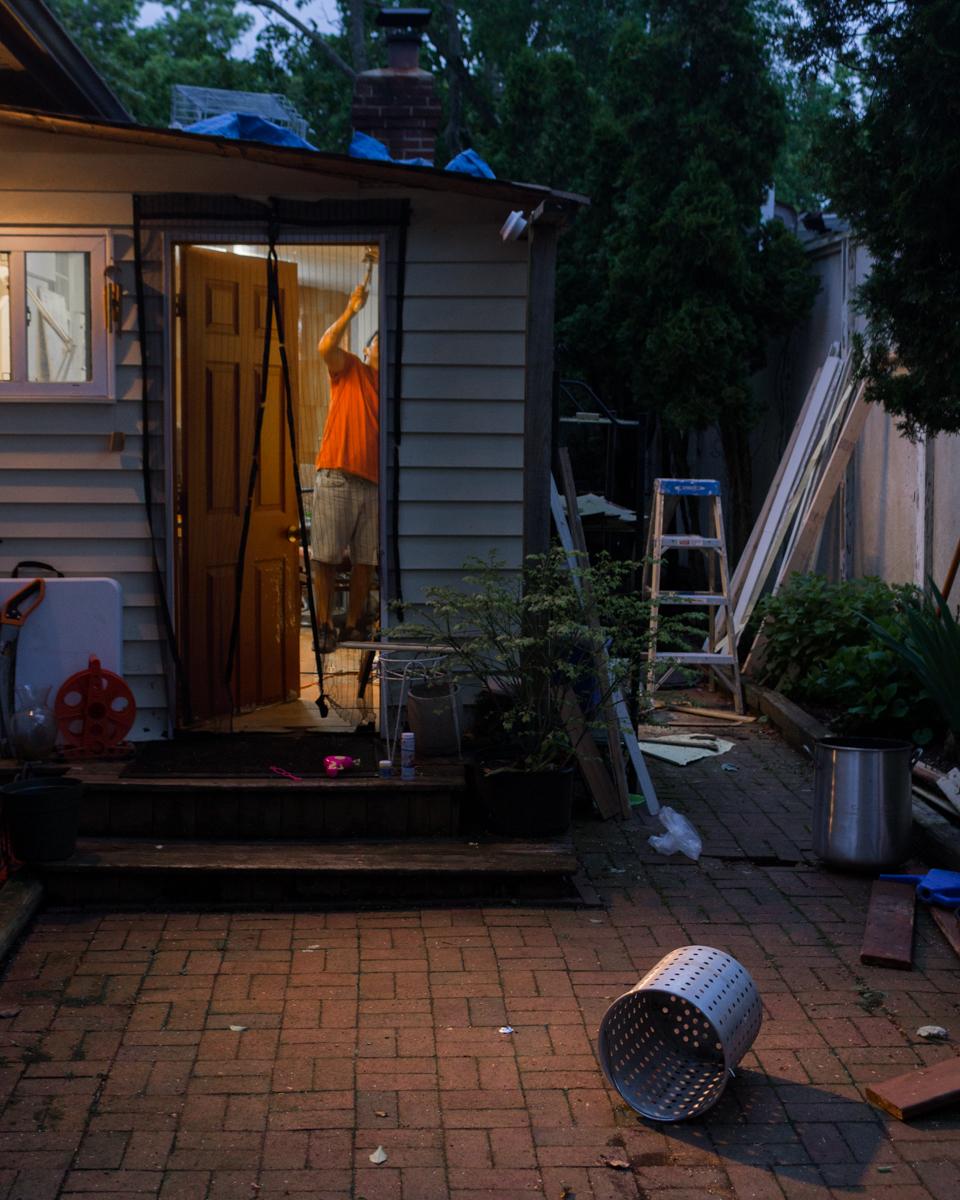 Summer at Home, Rebuilding #2, New York, USA 2018