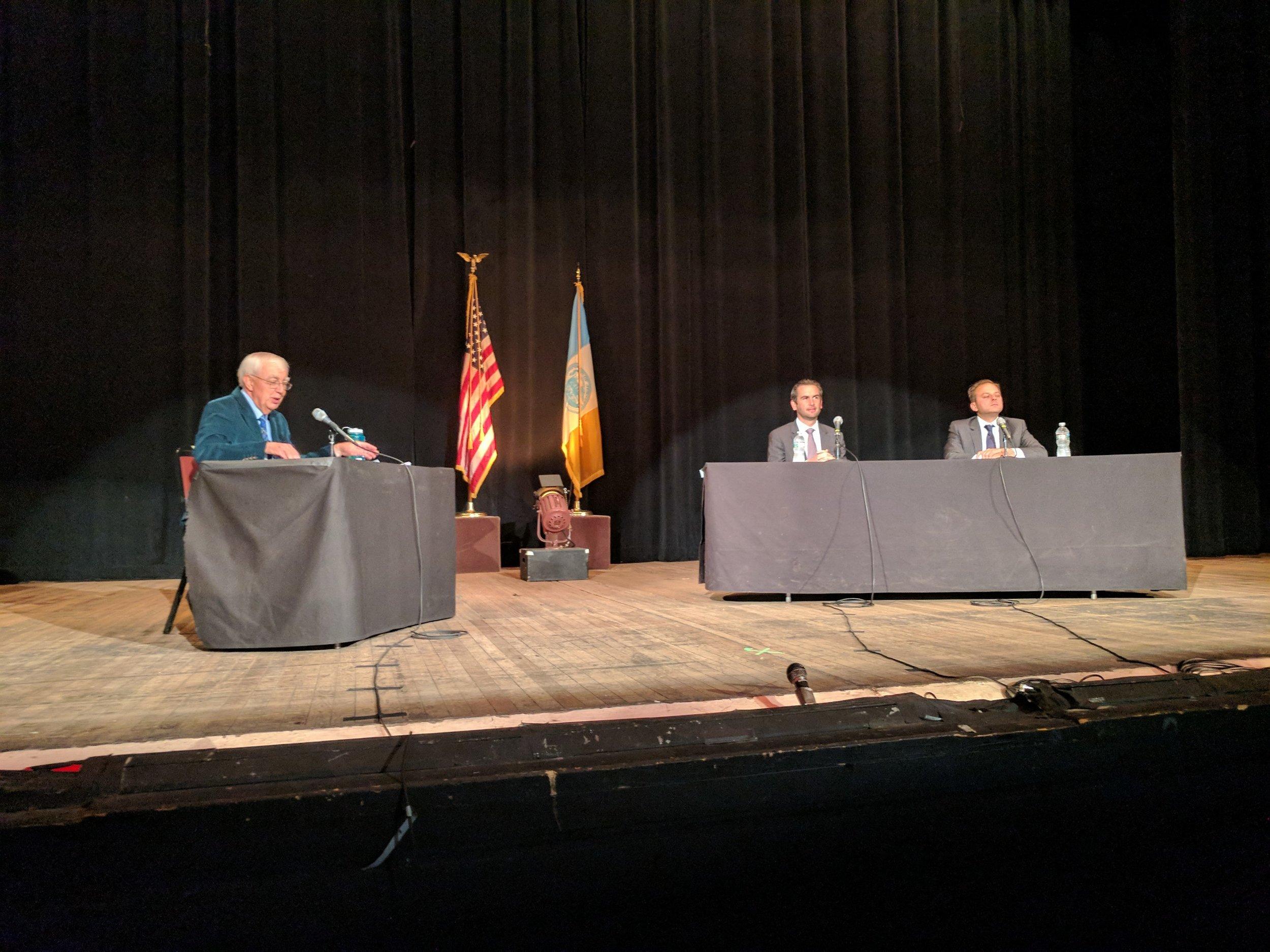 Bill moderating the Mayoral Debate.jpg