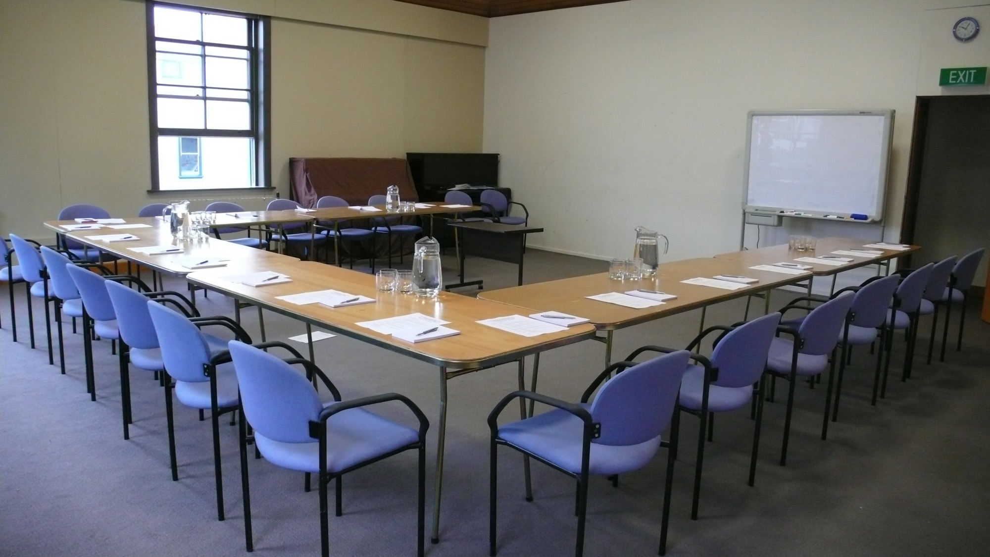 The Upper Chamber set out for a meeting