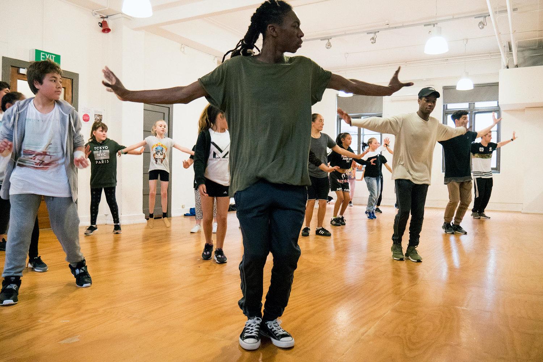 The Next Step Hip Hop Class Dance Week 2017