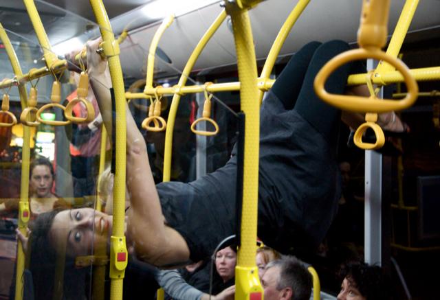 Back of the Bus. Sacha Copland. Java Dance Theatre.