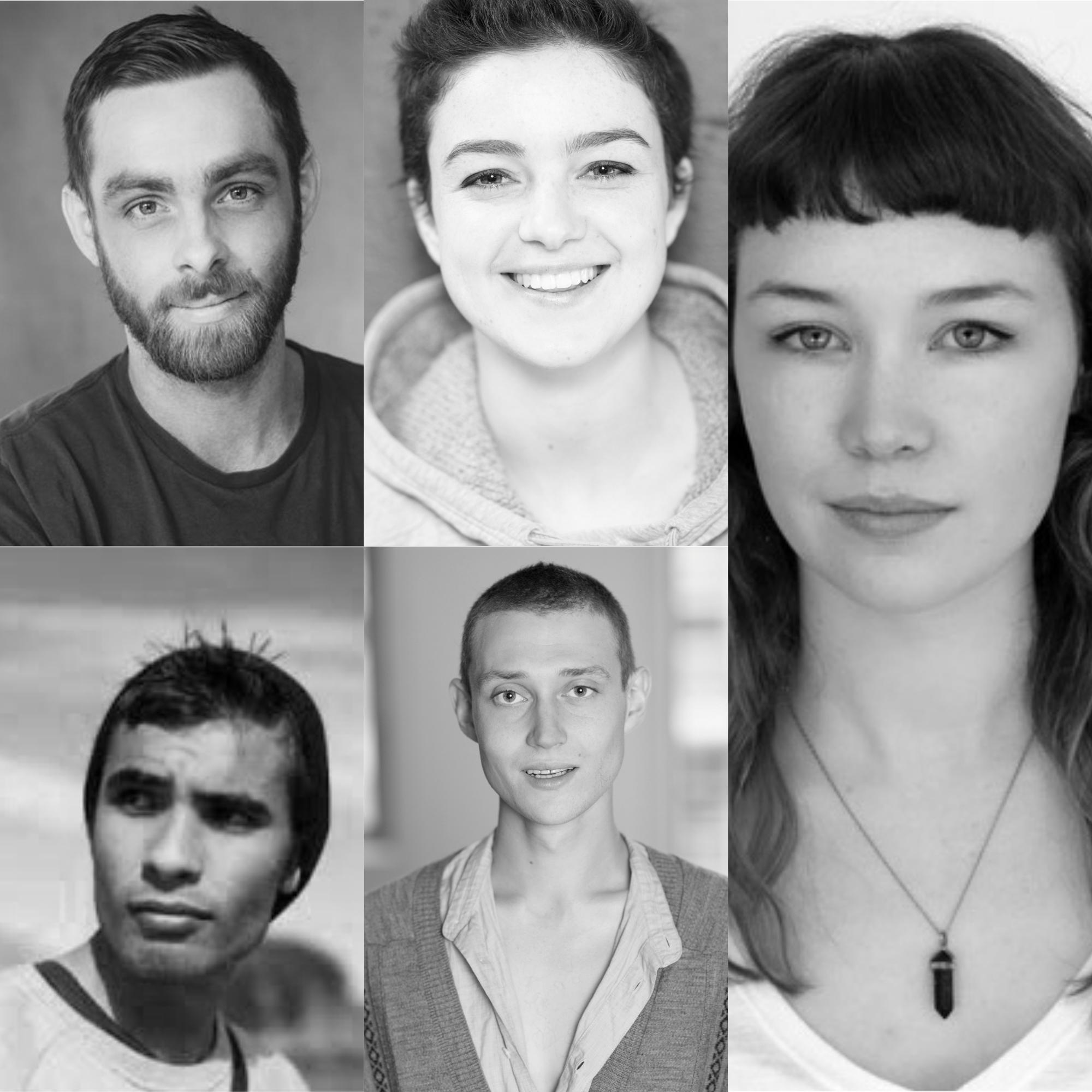 From top left: Tom Clarke, Ingrid Saker, Brynne Tasker-Poland, George Fenn, Owen McCarthy