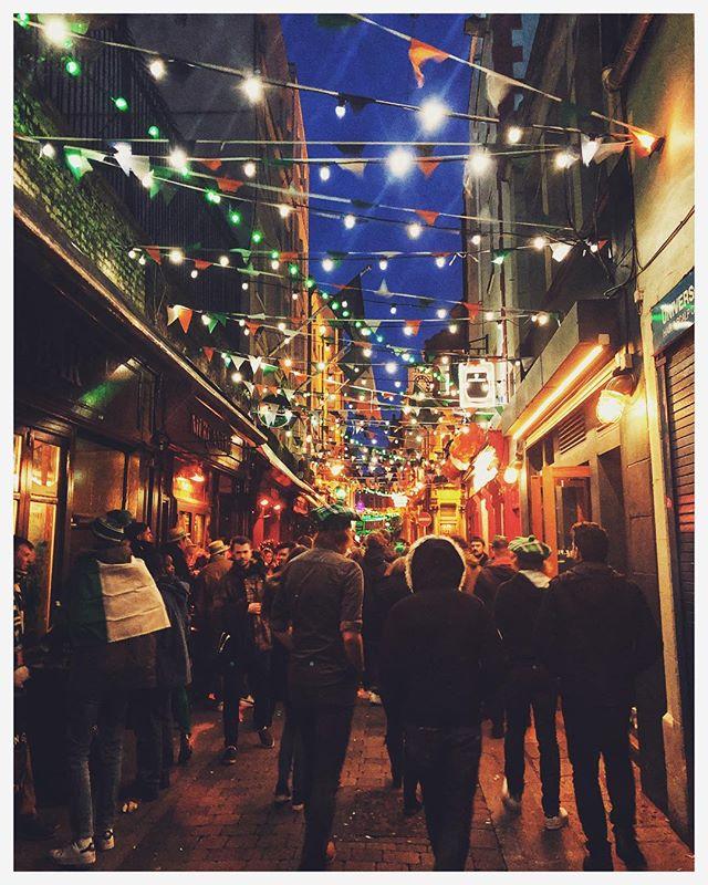 St. Patrick's Day in Dublin was everything I expected and more. I'll explain more on an upcoming photo. 📍Dublin, Ireland    But I will say, Ireland is already pretty fantastic. . . . #dublin #ireland #stpatricksday #stpaddysday #visitdublin #visitireland