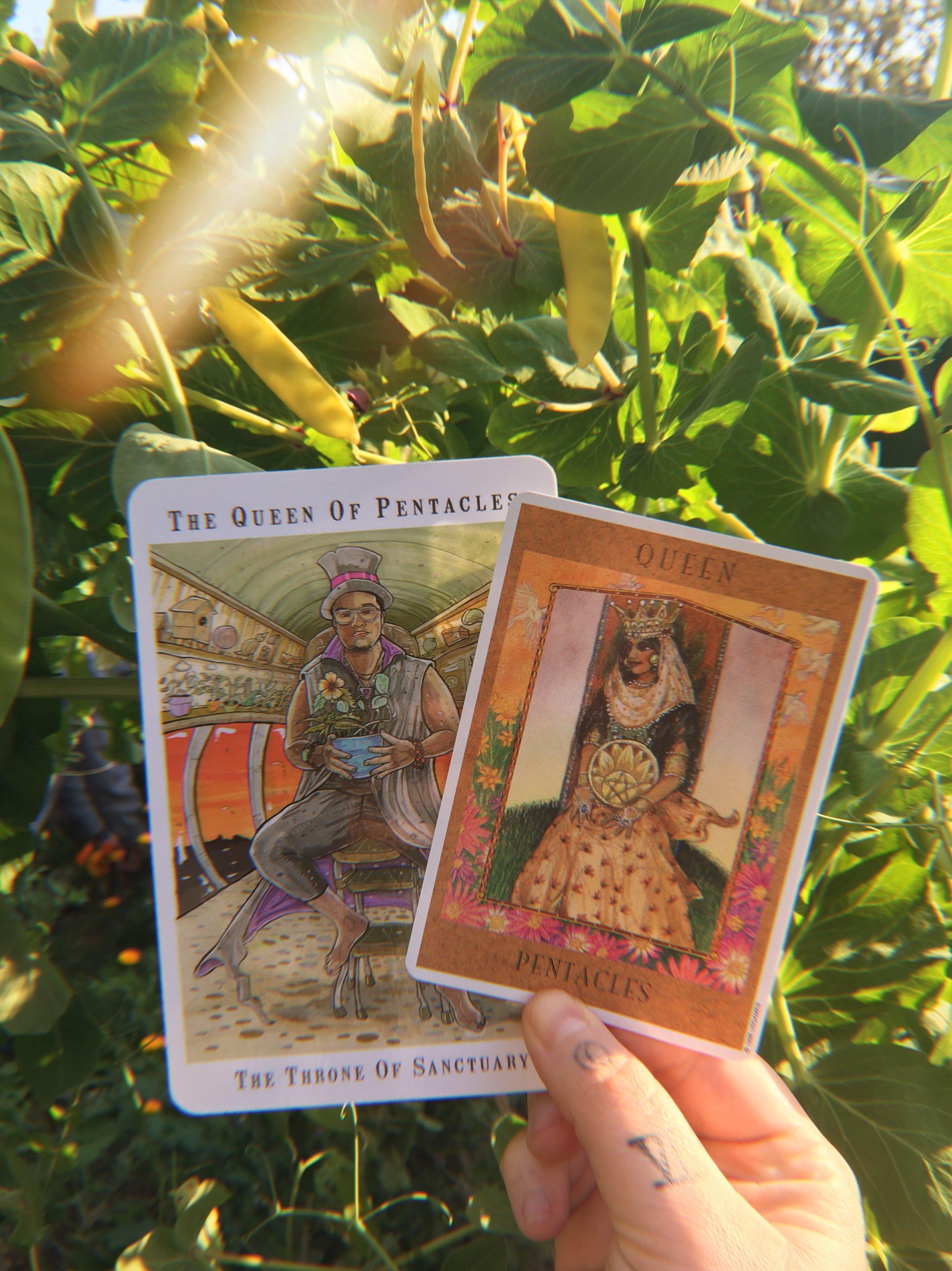 Next World Tarot & Goddess Tarot