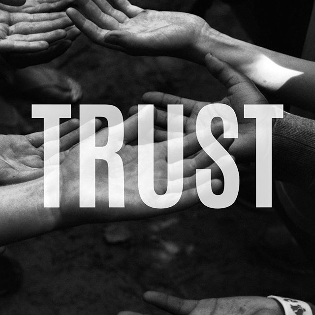 Trust is a journey, it's a concept that isn't built overnight but can surely be broken in a short span of time. Trust affects most areas of our lives, how we trust people we are in relationship with and how we trust others. We also find trust in how we  interact with abstract things in our life such as: have we gotten sick from a restaurant once, where we bitten by a dog as a kid so know we no longer trust a certain breed of dog or even there was a shady person on this street once so now you always lock your car while driving in a certain area. Learning to trust is vital to building new areas of your life. The next few weeks I will be doing a mini series on my ideas of trust and how I see having trust in your life is valuable to growth!