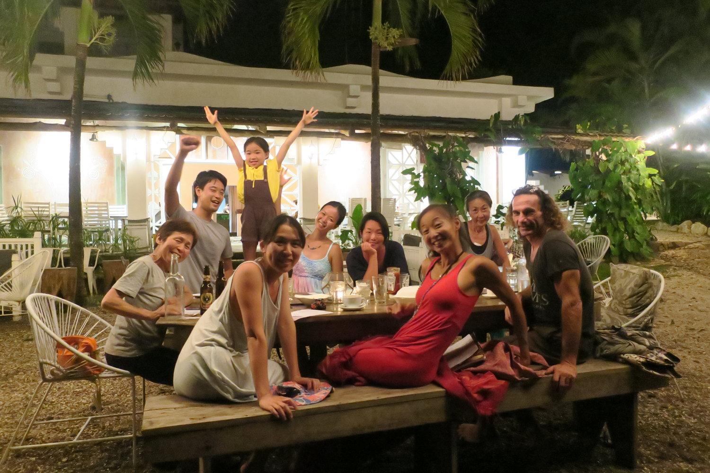 imakoko retreat 2017にて。お子さまからご年配の方まで、まさに老若男女、それぞれに深く楽しい旅を経験されました。