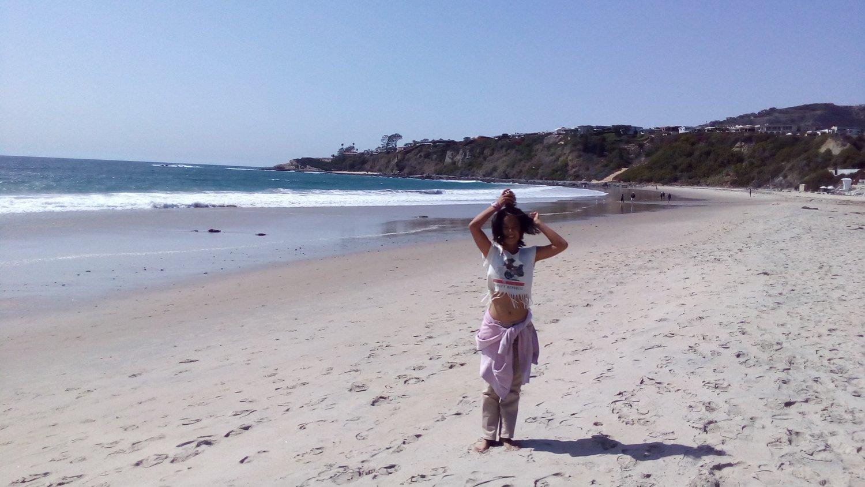 カルフォルニアのビーチも素敵!でもやっぱり、コスタリカが懐かしい〜!
