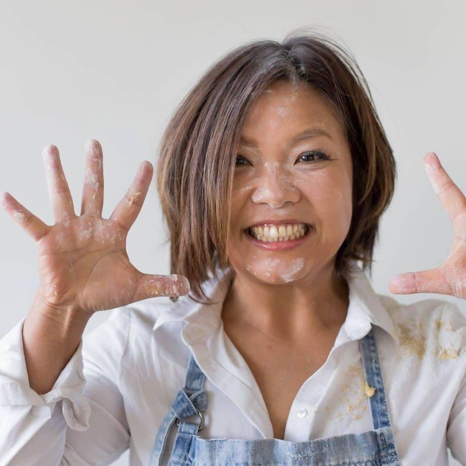 マーシャン祥子    Sachiko Marchand     フードコーチ、ライフワークコー