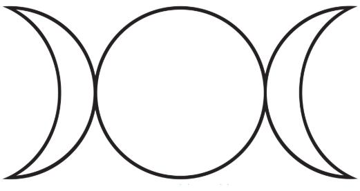 TRIPLE MOON - 「乙女、母、老婆」と三つの女性、月を表す古代からのシンボル