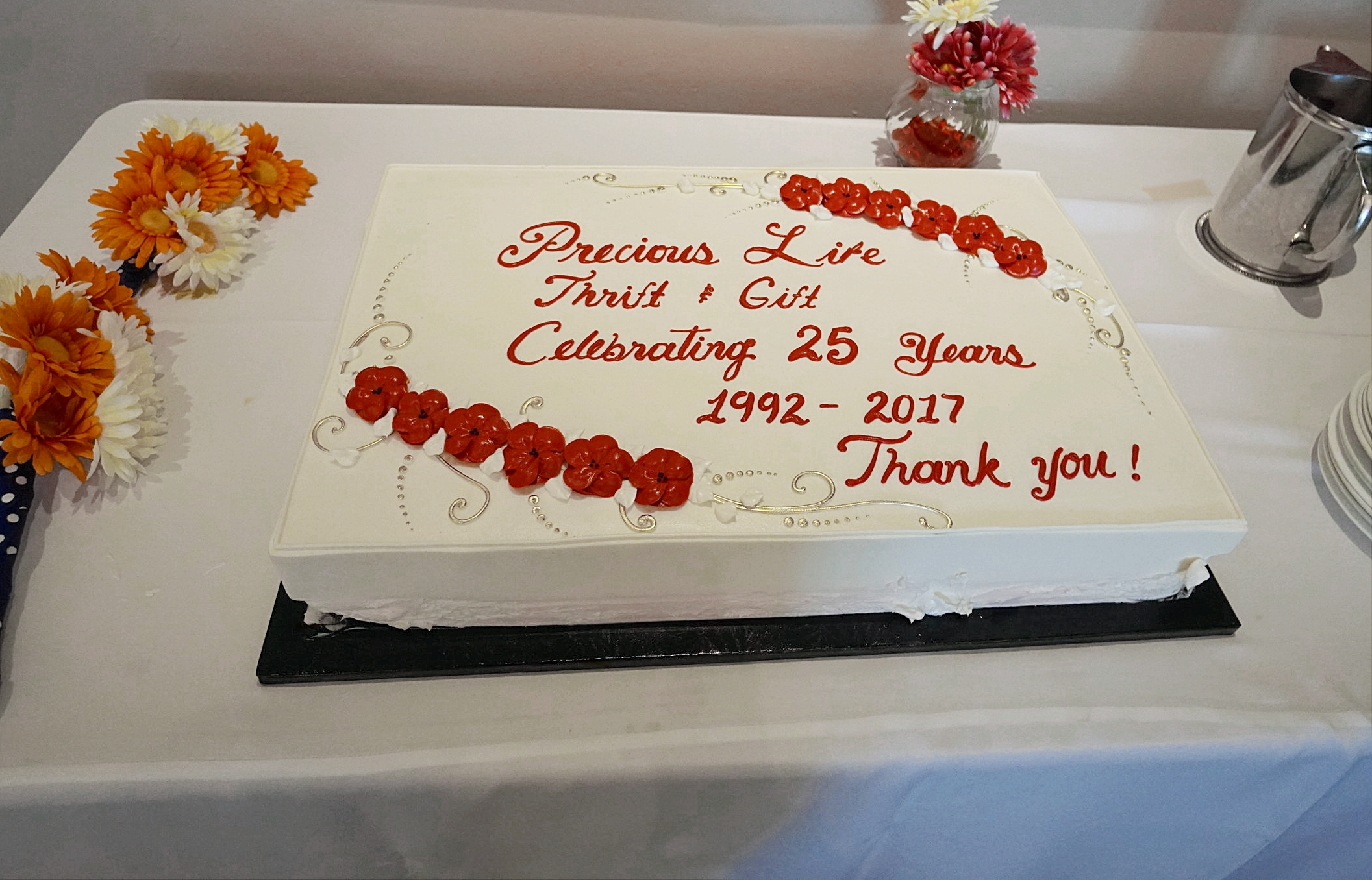 Precious Life Thrift and Gift Shop 25th Anniversary Celebration - Click Here to view more photos