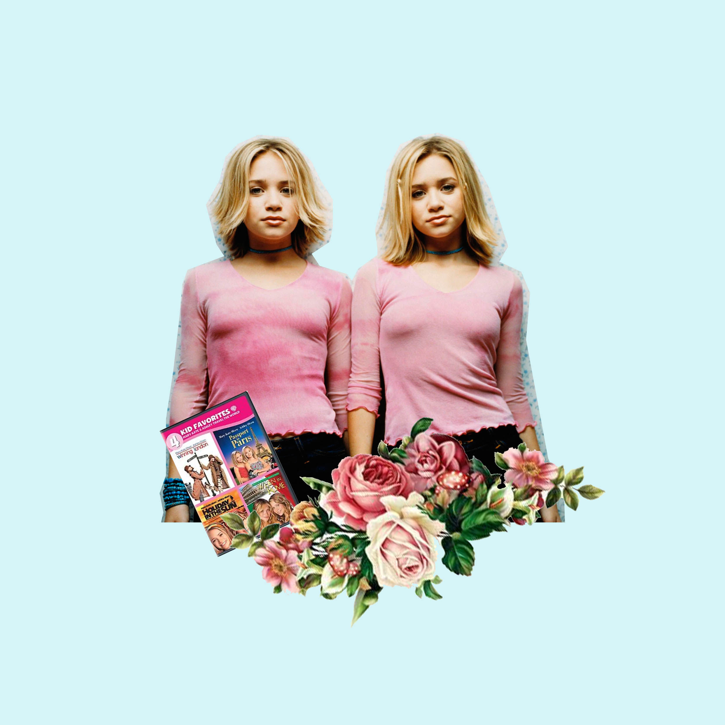 ICONIC DUO - Nobody made matching outfits look better, so hands up if the Olsen's had you wishing for a twin? There's not a film I haven't seen and New York Minute was a huge cinematic event in my time. So cute, so fun - so 2000's.