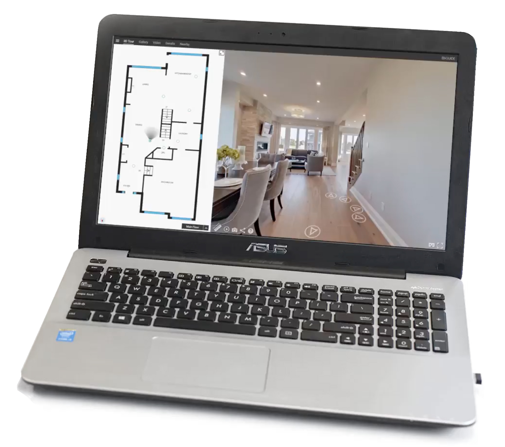 The ultimate 3D listing tool. - With iGuide virtual home tours, buyers don't just see a home, they see themselves living there. Our 3D virtual home tours open listings to a limitless number of buyers from anywhere in the world. iGuide lets you experience the property down to the smallest detail, with the clarity of stepping through the front door.