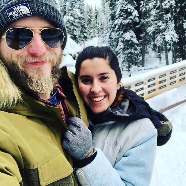 Honeymoon mode activated... #honeymoontime #justgotmarried #bigskymontana #yellowstonenationalpark #publiclands #backcountry #hikingadventures #adventureswithmylove #itscoldoutside #pensacolabeach #pensacolaflorida #downtownpensacola